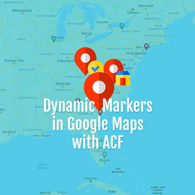 Create Google Map with Multiple Dynamic Markers Using Advanced ... on